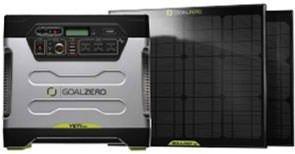 Goal Zero BONUS Yeti 1250 Solar Generator Kit