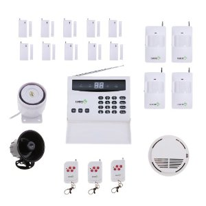 Fortress S02-D Wireless Home Security Alarm System