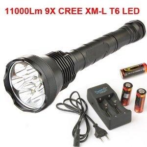 securityIng® 9X CREE XM-L T6 LED